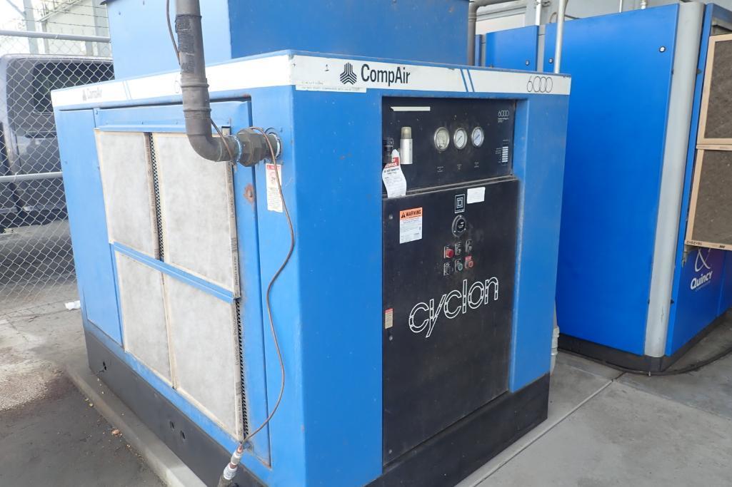 CompAir Kellogg 6000 air compressor, type 6100 C5H, SN V9F61271/5E, 33,000 hours. **Rigging Fee: $15