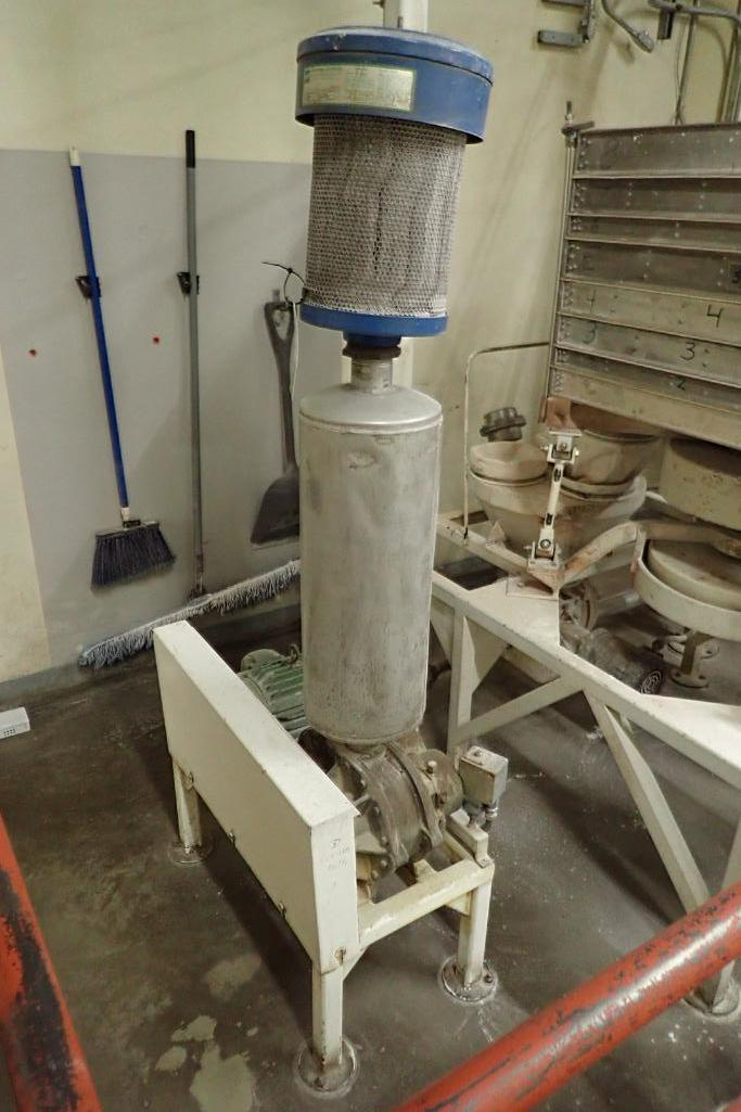 10 HP Roots blower package. SN: SR00012010. **Rigging Fee: $250**
