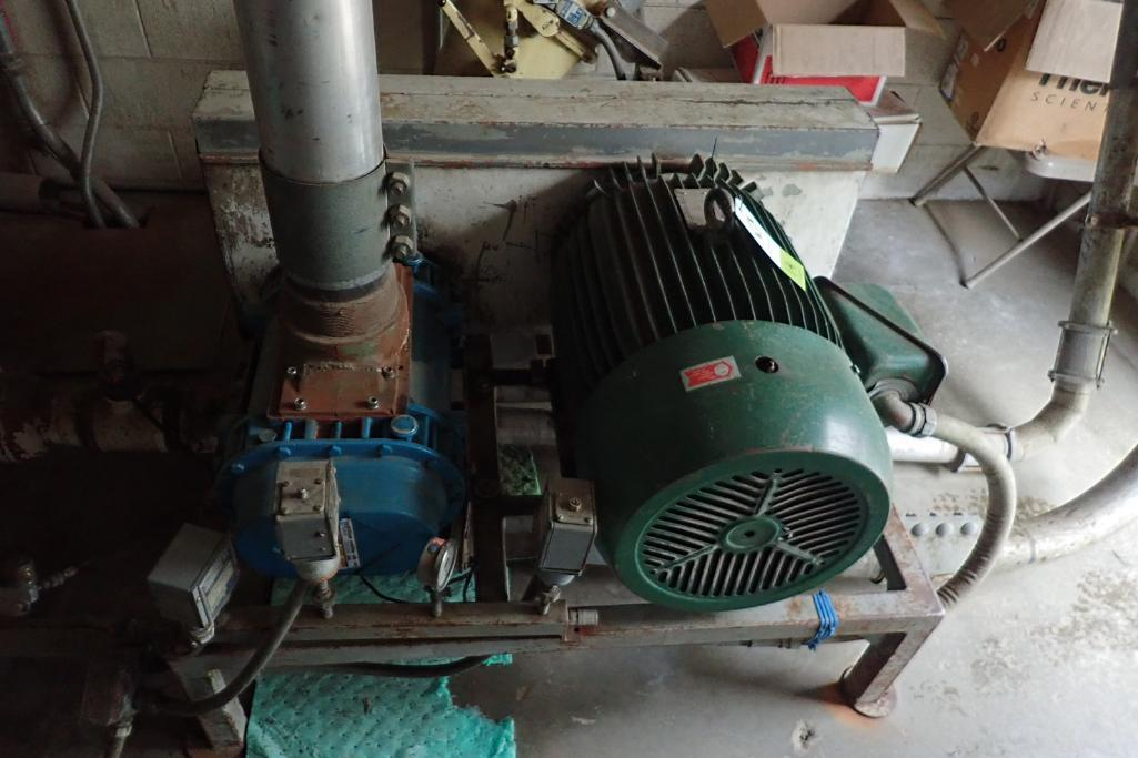 Tuthill 7.5 hp blower package. **Rigging Fee: $300** - Image 2 of 7