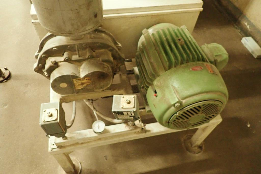20 HP Roots blower package. **Rigging Fee: $250**