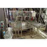 PSG LEE pre-formed stand up pouch filler, Model RP-147TZ-24, SN 871, 2 station filler, 2-up loading,