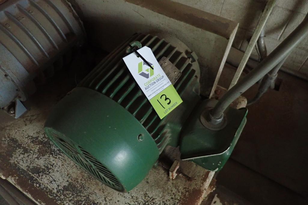 Schick 10 hp blower package, SutorbiltModel: GAELDPA, rotary positive blower. **Rigging Fee: $300** - Image 4 of 7
