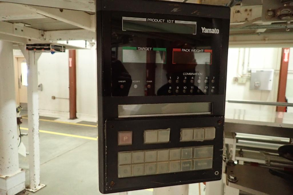 1984 Yamato 12-head scale, Model: ADW-221R, SN 83389, max 500 grams/min. 14 grams. **Rigging Fee: $4 - Image 8 of 11