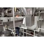 2012 Deamco vibratory conveyor, Model VCNF-U-18x6x6-0, SN 15220VCNF-U-03F Item 5, 72 in. long x 18 i
