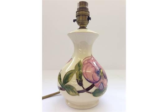 A walter moorcroft period moorcroft pottery table lamp base a walter moorcroft period moorcroft pottery table lamp base decorated in the magnolia pattern ci aloadofball Images