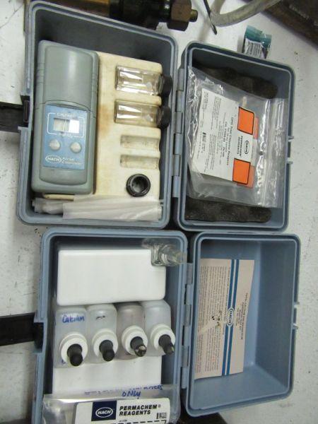 Lot 330 - OPTALIGN V OPERATOR, POCKET COLORIMETER INDUCTIVE AMPLIFIER, ETC
