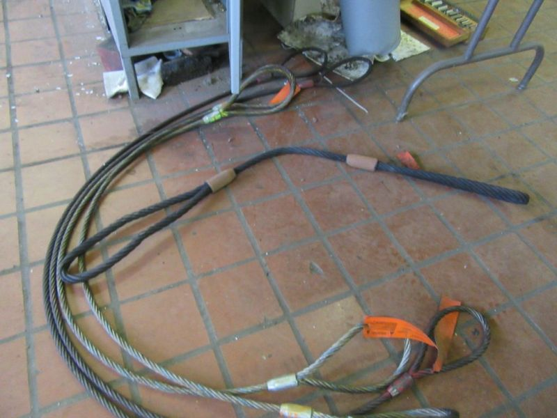 Lot 192 - WIRE CABLE SLINGS