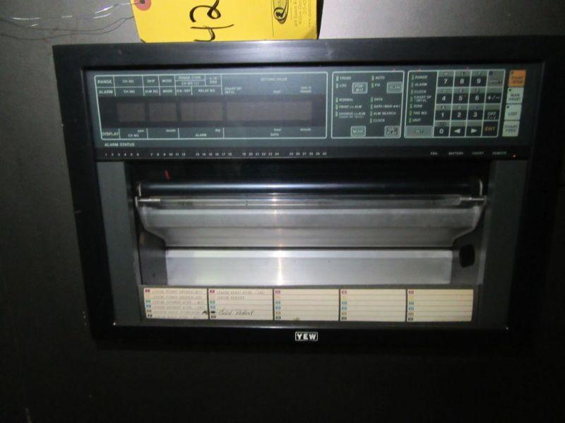 Lot 422 - (4) YOKOGOWA CHART RECORDERS