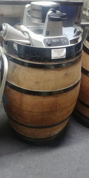 Lot 37 - Oak Display Barrel