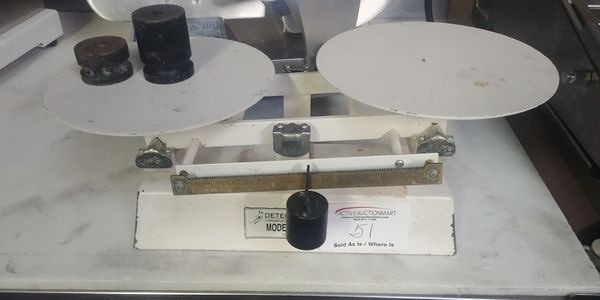 Lot 51 - Detecto Portion Scale with Weights