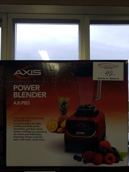 Lot 42 - Axis Blender