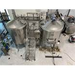 2017 Criveller 15 BBL Two-Vessel Brewhouse, Steam Jacketed Kettle, J [Subj to Bulk] | Rig Fee: $1000
