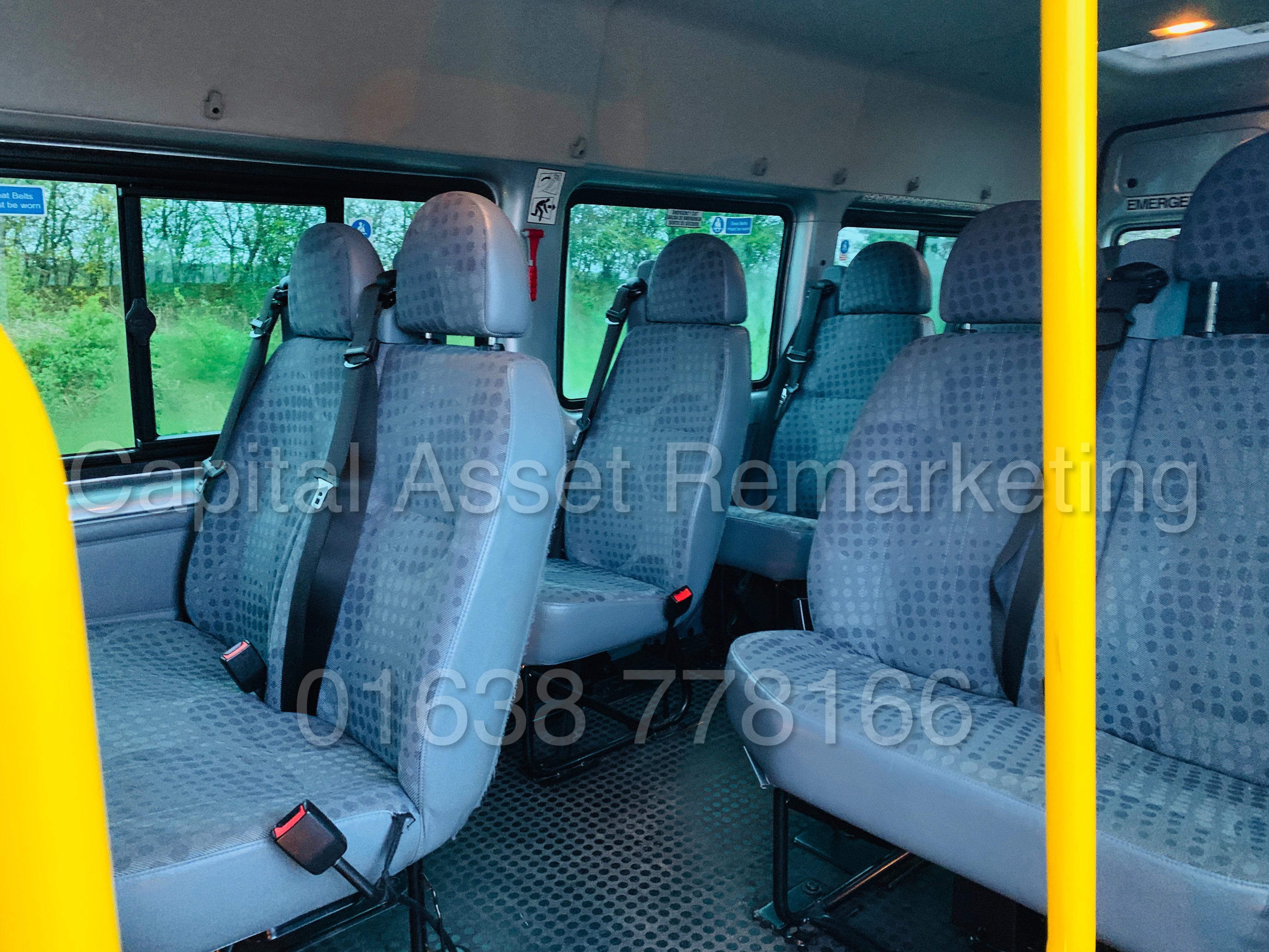 FORD TRANSIT 135 T430 RWD *XLWB -17 SEATER MINI-BUS* (2013) '2.2 TDCI - 135 BHP - 6 SPEED' (1 OWNER) - Image 24 of 43