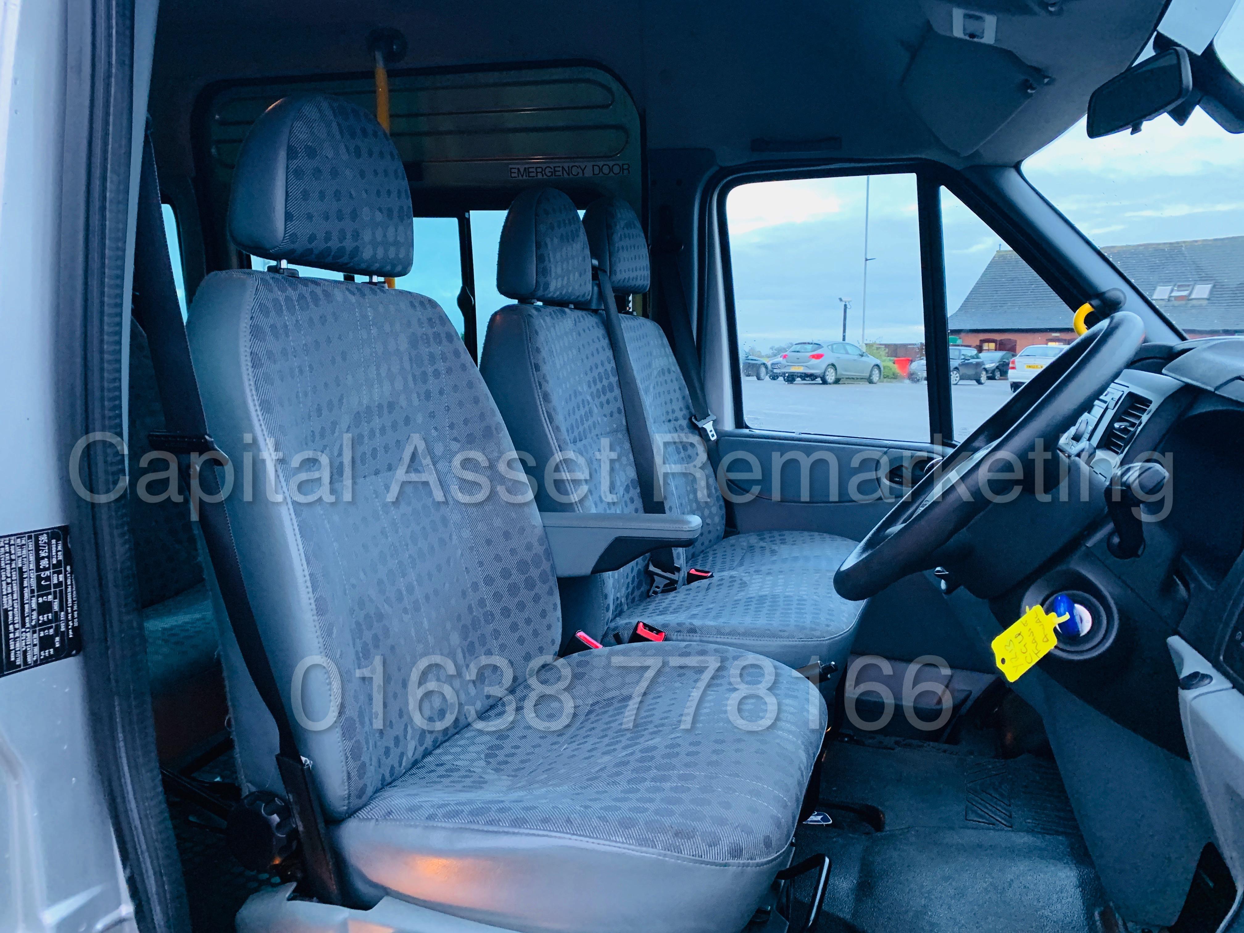 FORD TRANSIT 135 T430 RWD *XLWB -17 SEATER MINI-BUS* (2013) '2.2 TDCI - 135 BHP - 6 SPEED' (1 OWNER) - Image 29 of 43