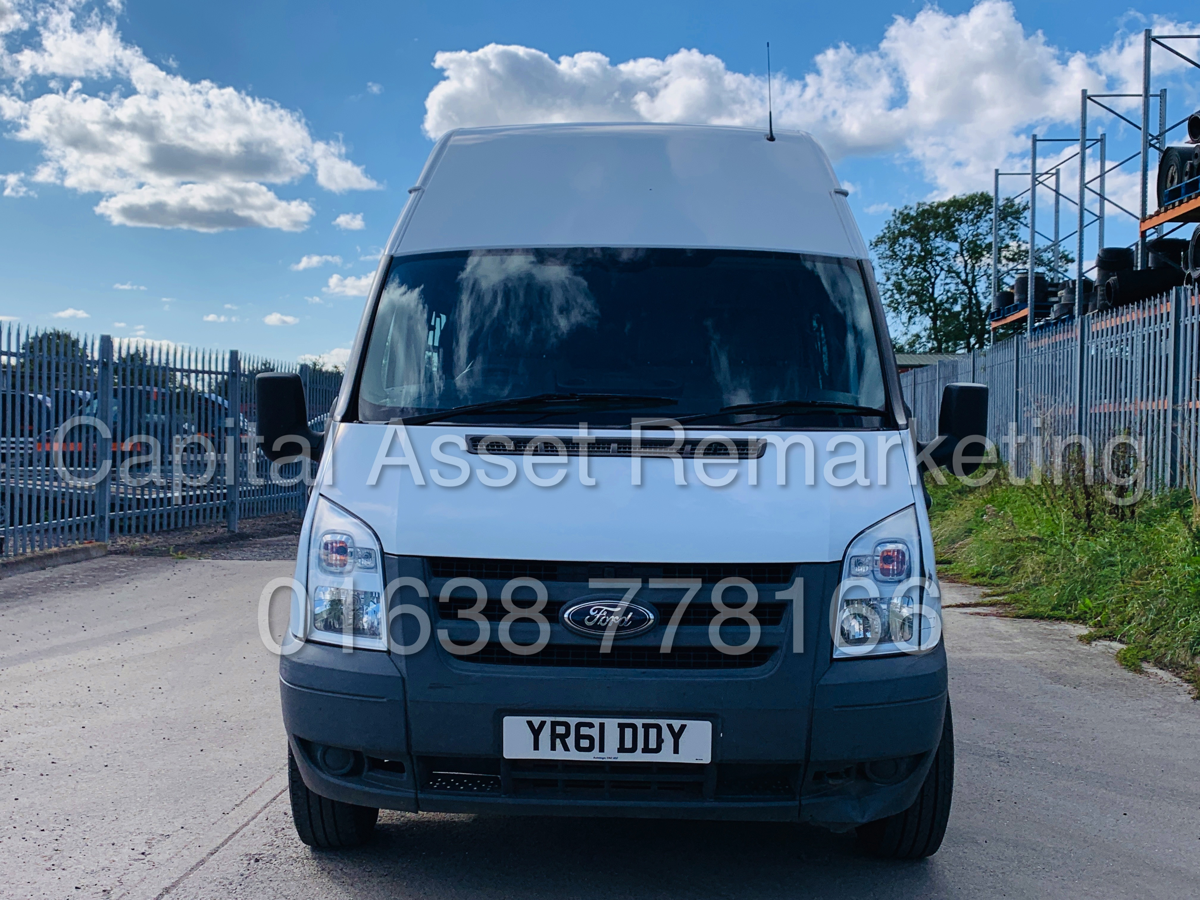 Lot 7A - (On Sale) FORD TRANSIT T350 *LWB-MESSING UNIT* (61 REG) '2.4 TDCI -6 SPEED' *61,000 MILES* (1 OWNER)
