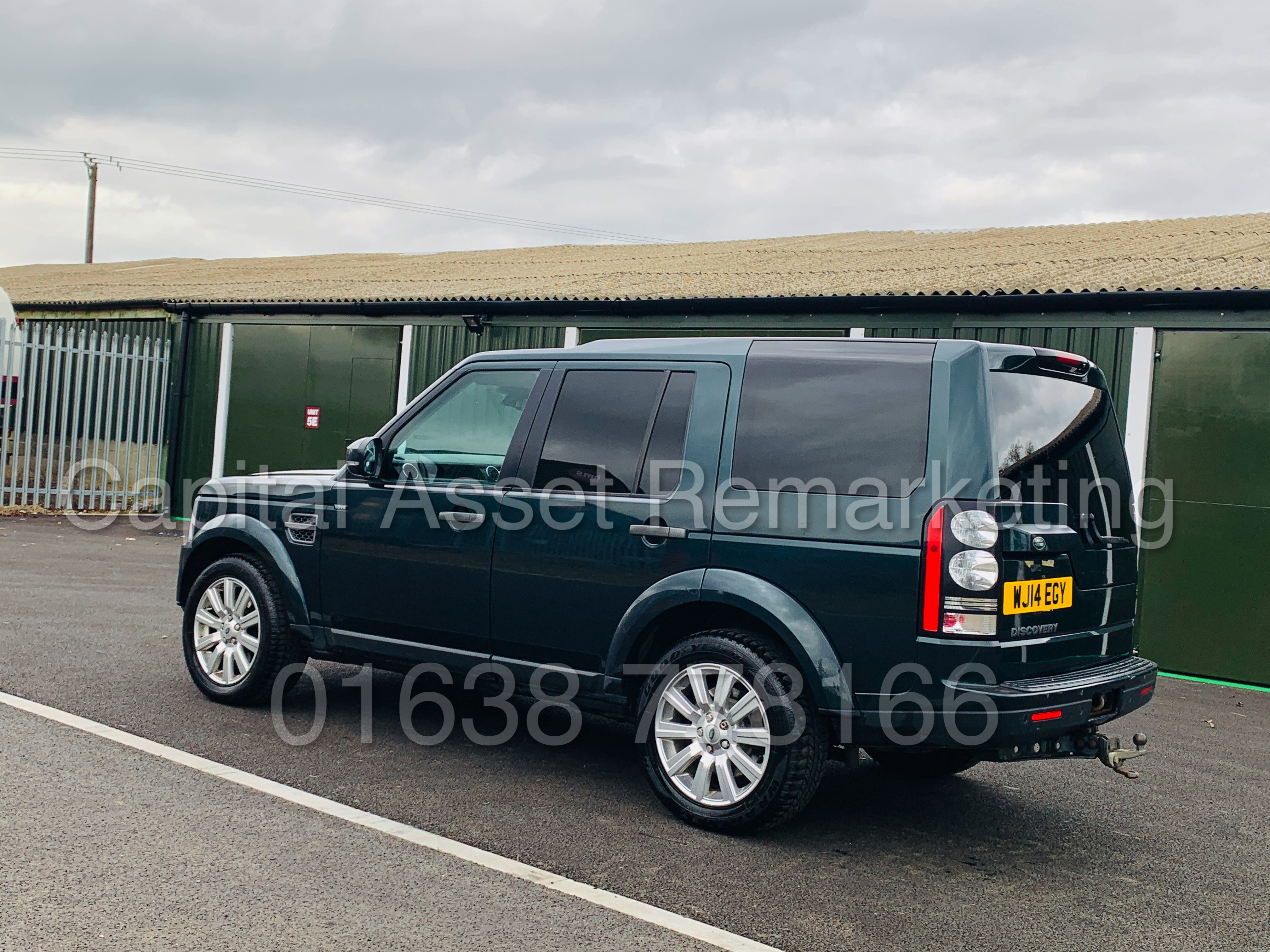 Lot 5 - LAND ROVER DISCOVERY 4 *XS EDITION* UTILITY COMMERCIAL (2014) '3.0 SDV6 - 8 SPEED AUTO' *TOP SPEC*