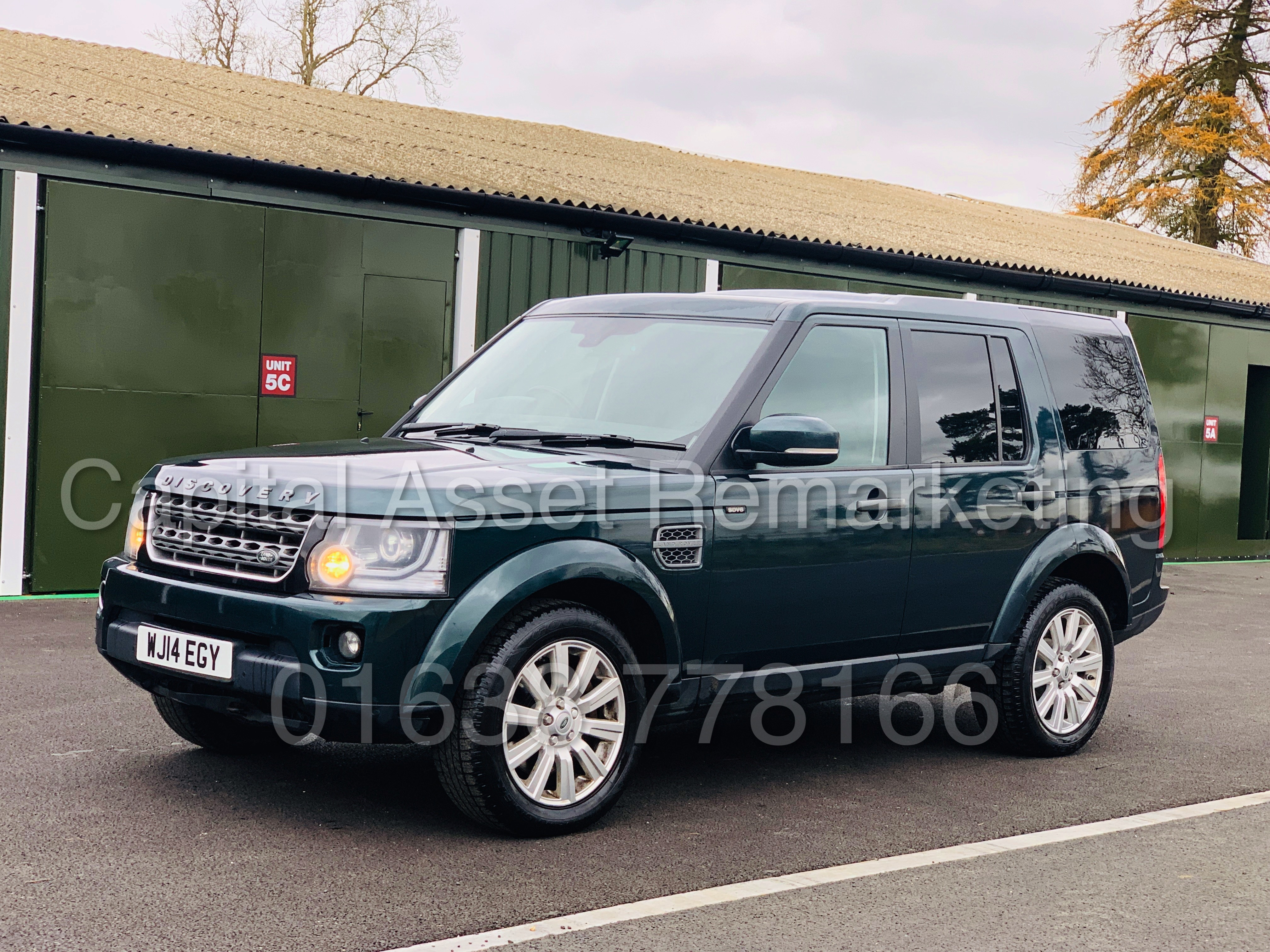 Los 5 - LAND ROVER DISCOVERY 4 *XS EDITION* UTILITY COMMERCIAL (2014) '3.0 SDV6 - 8 SPEED AUTO' *TOP SPEC*