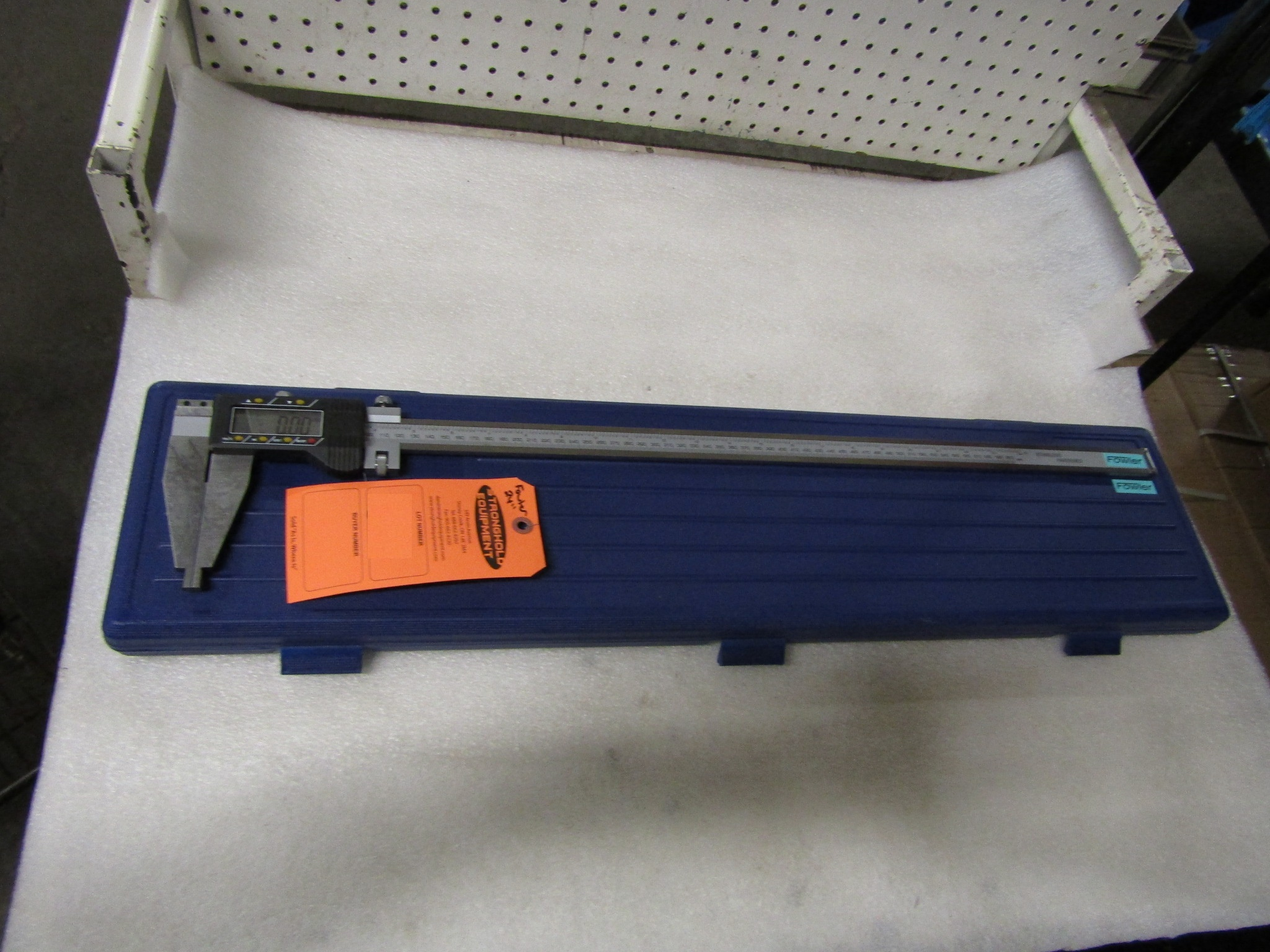 "Lot 57 - BRAND NEW Fowler 24"" / 600mm Digital Caliper - large digital readout display in case - MINT"