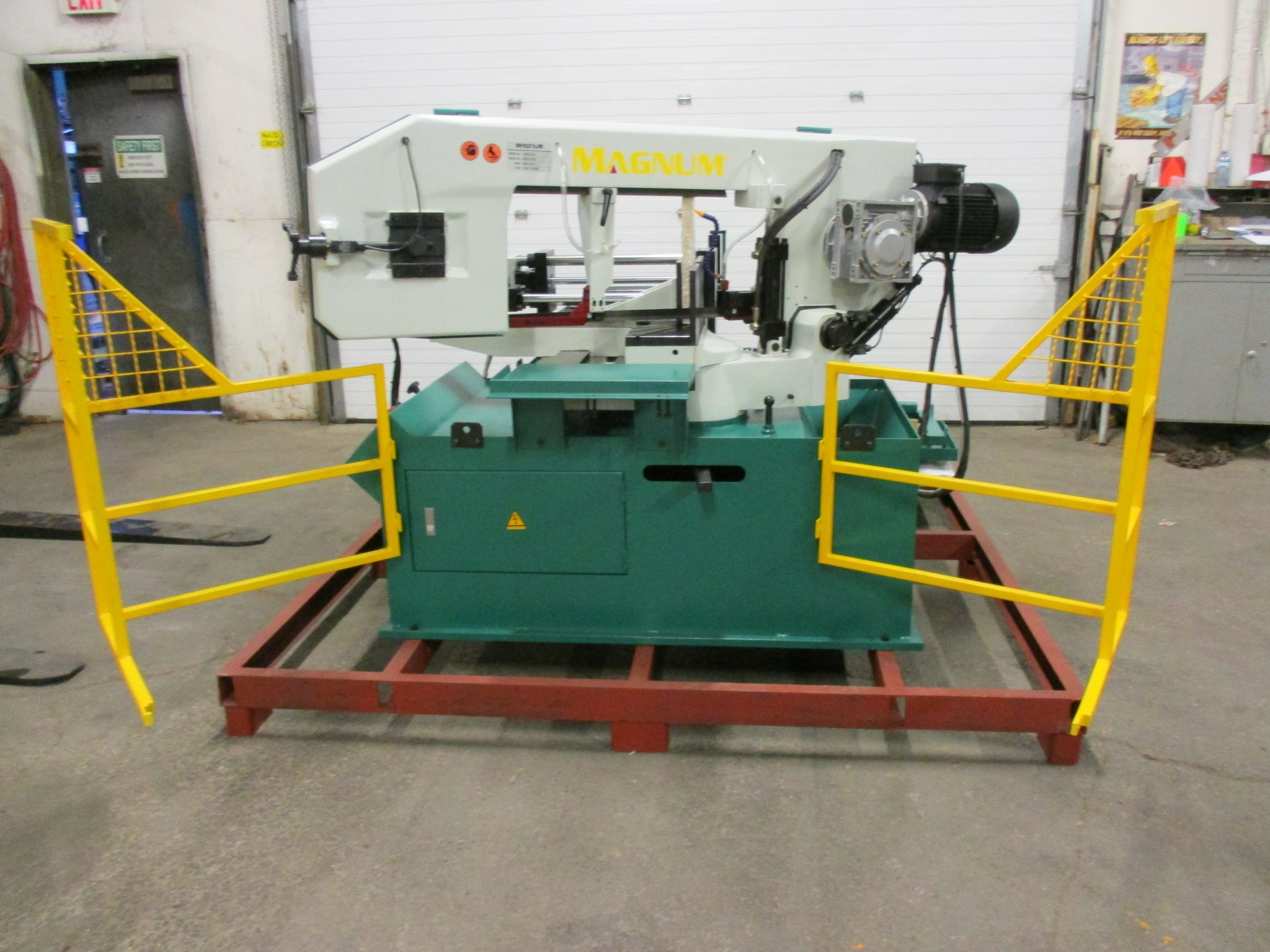 Magnum BSM-1813A Fully Automatic CNC Horizontal Band Saw - 18 X 13 inch CUTTING CAPACITY - CNC - Image 3 of 4