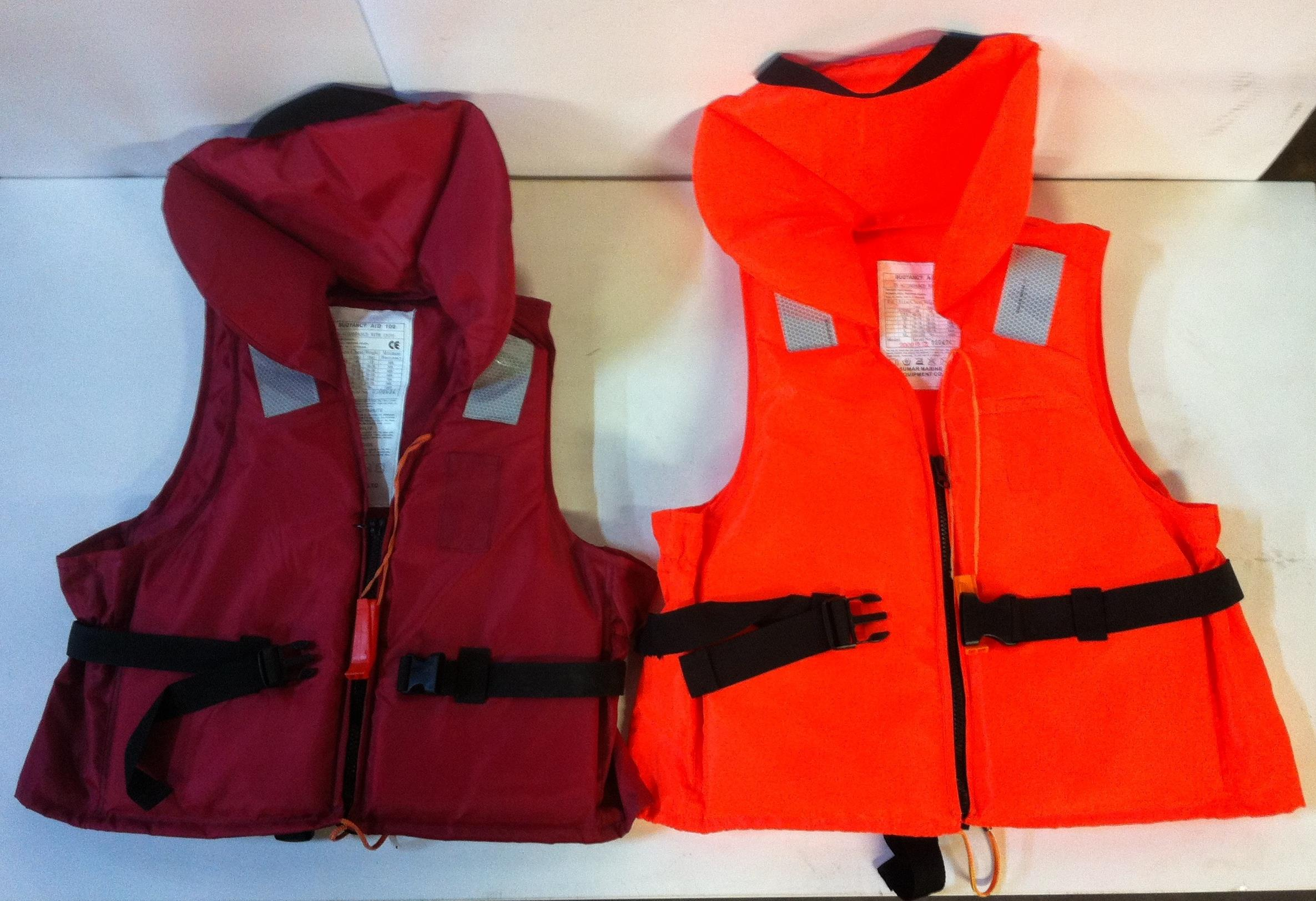 Lot 35 - 2 x Buoyancy Aid 100 Life Jackets