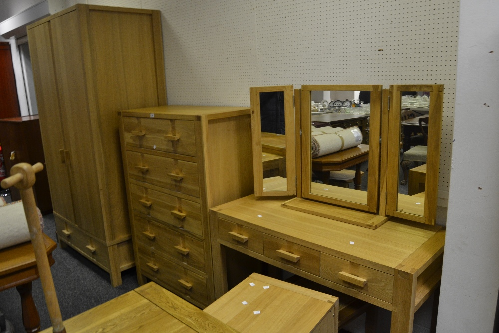 A John Lewis Monterey bedroom suite consisting of a wardrobe