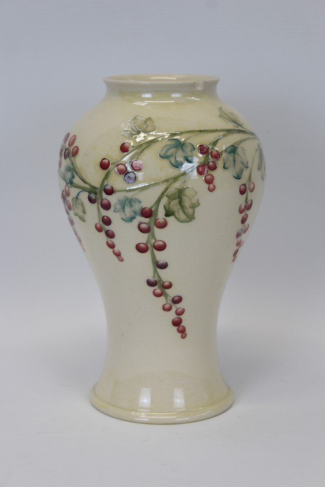 Lot 2027 - Moorcroft pottery vase made for Liberty & Co.
