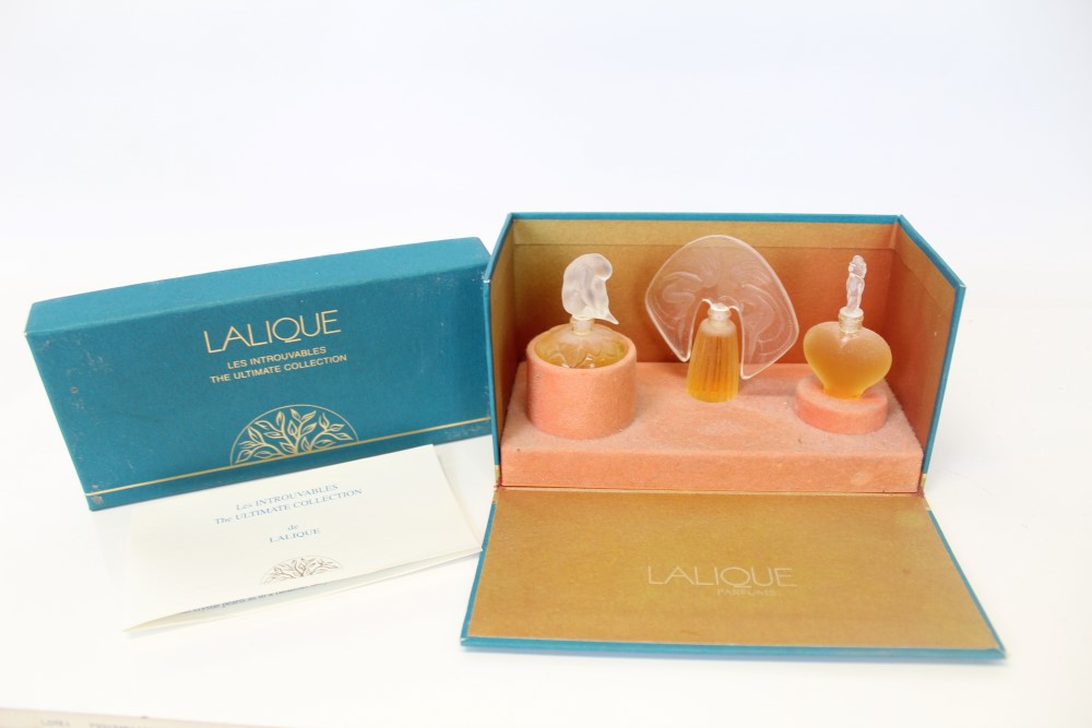 Lot 2028 - Lalique The Ultimate Collection perfume in original box