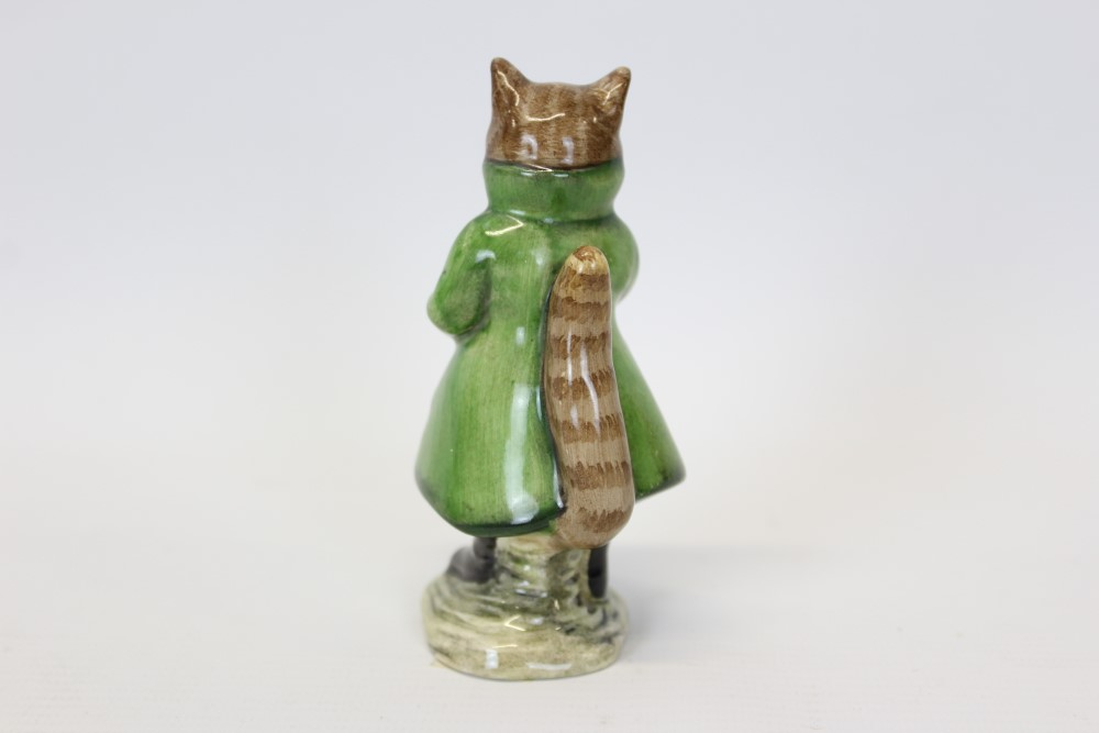Lot 2018 - Two Beswick Beatrix Potter figures - Simpkin and Sir Isaac Newton