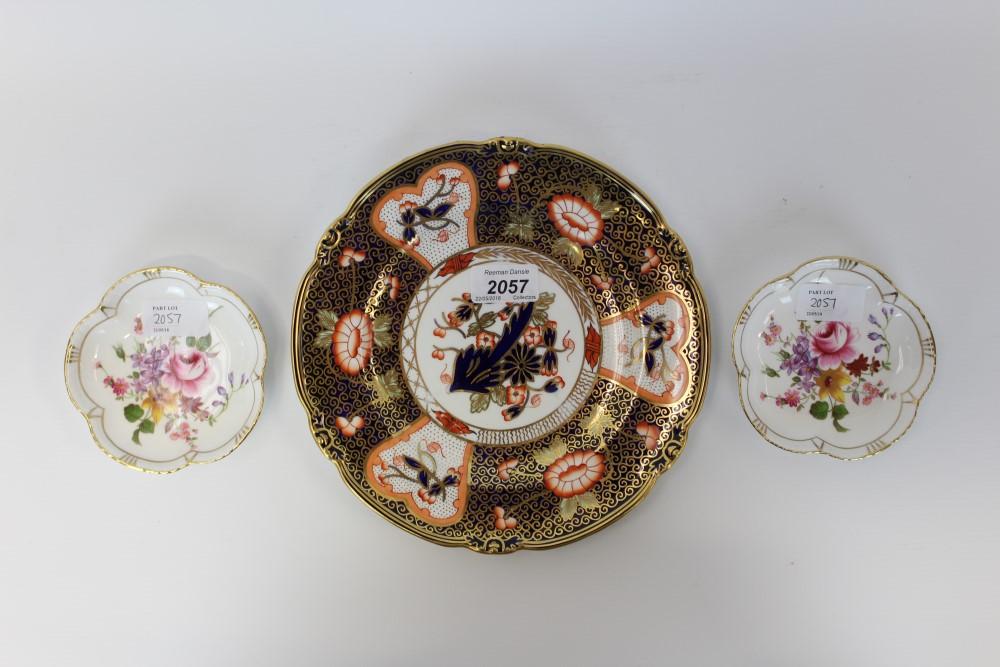 Lot 2057 - Royal Crown Derby Imari pattern plate,
