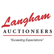 Langham Auctioneers, INC logo