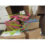 Pallet of approx 9000 Various ranibow Coat hangers, all new
