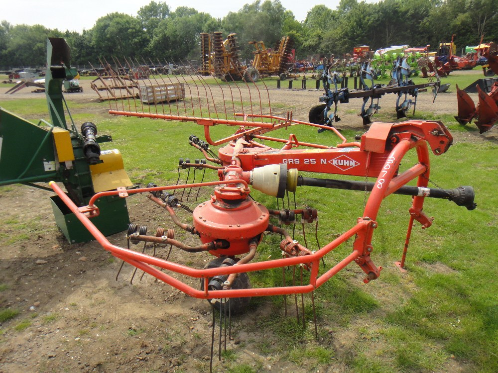 Kuhn tedder gyrostar grs 25n parts manual grs25n 25n.