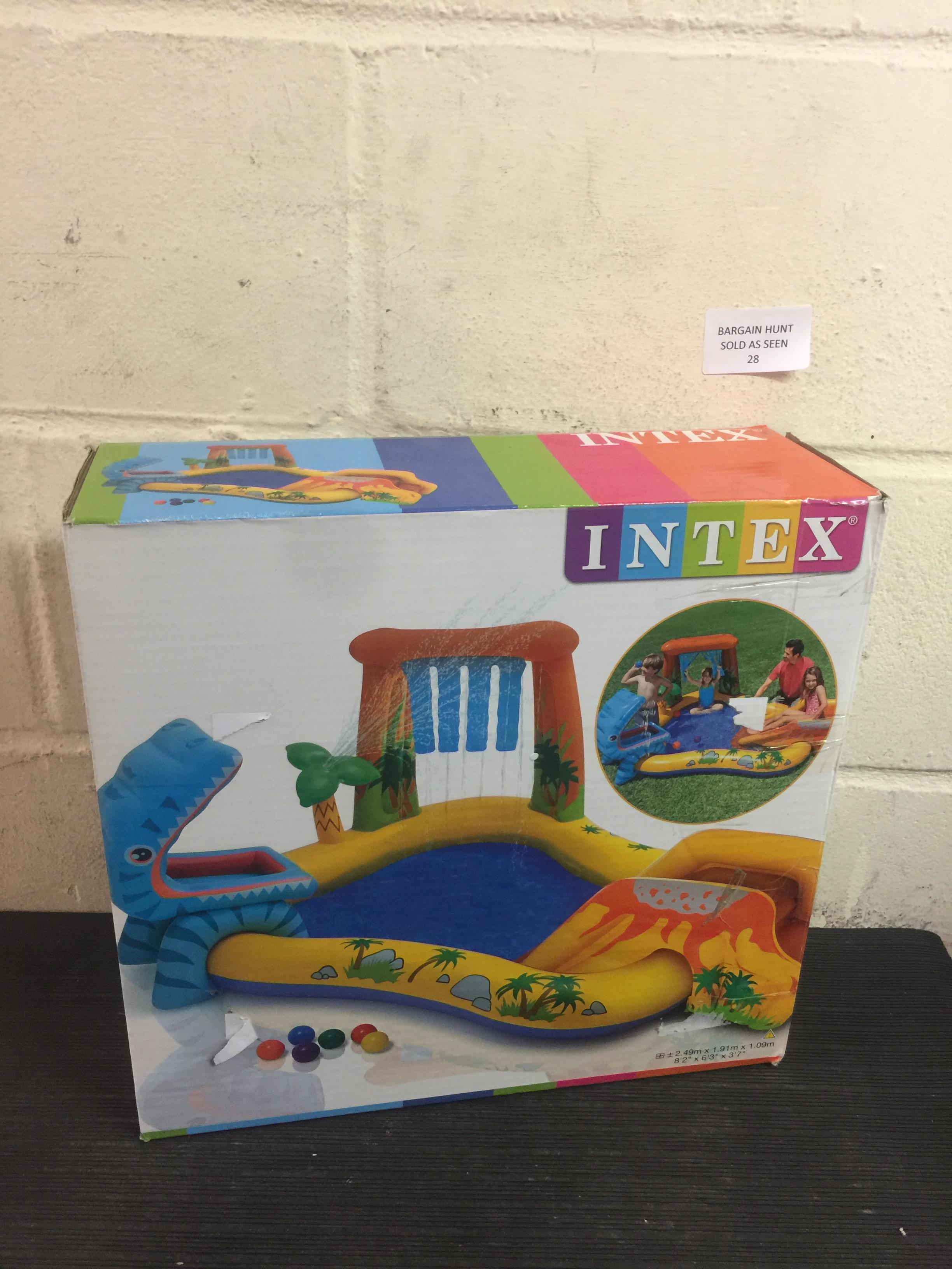 Lot 28 - Intex Dinosaur Play Centre