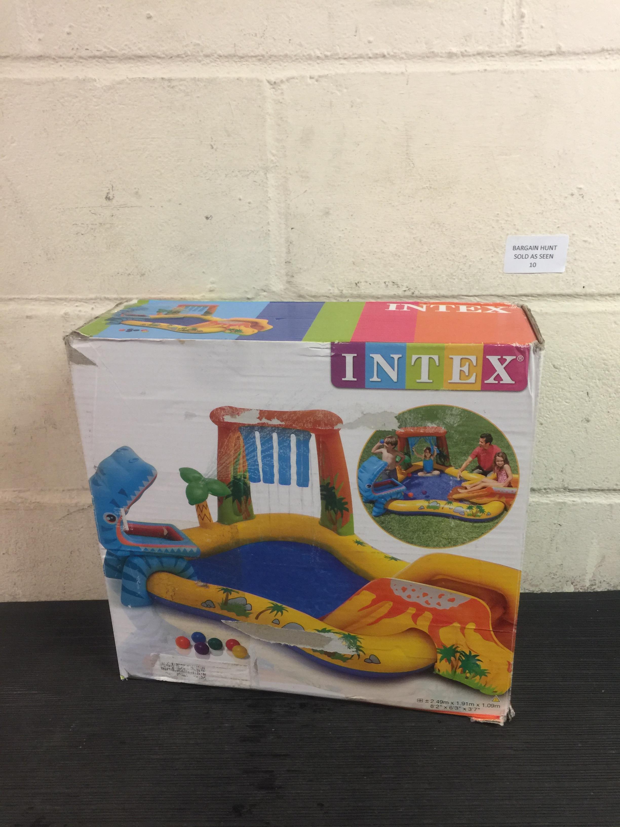 Lot 10 - Intex Dinosaur Play Centre