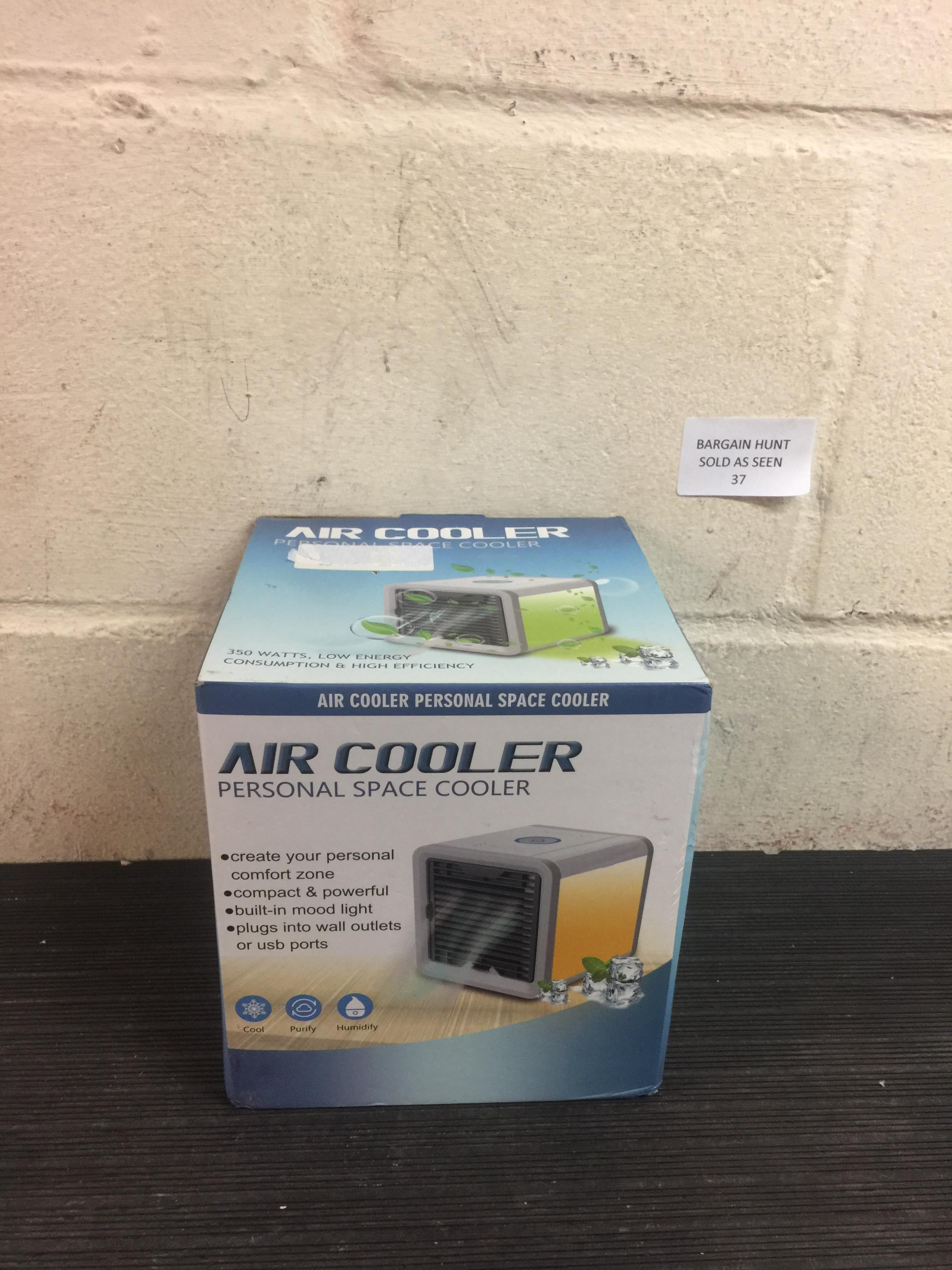Lot 37 - Air Cooler Personal Space Cooler