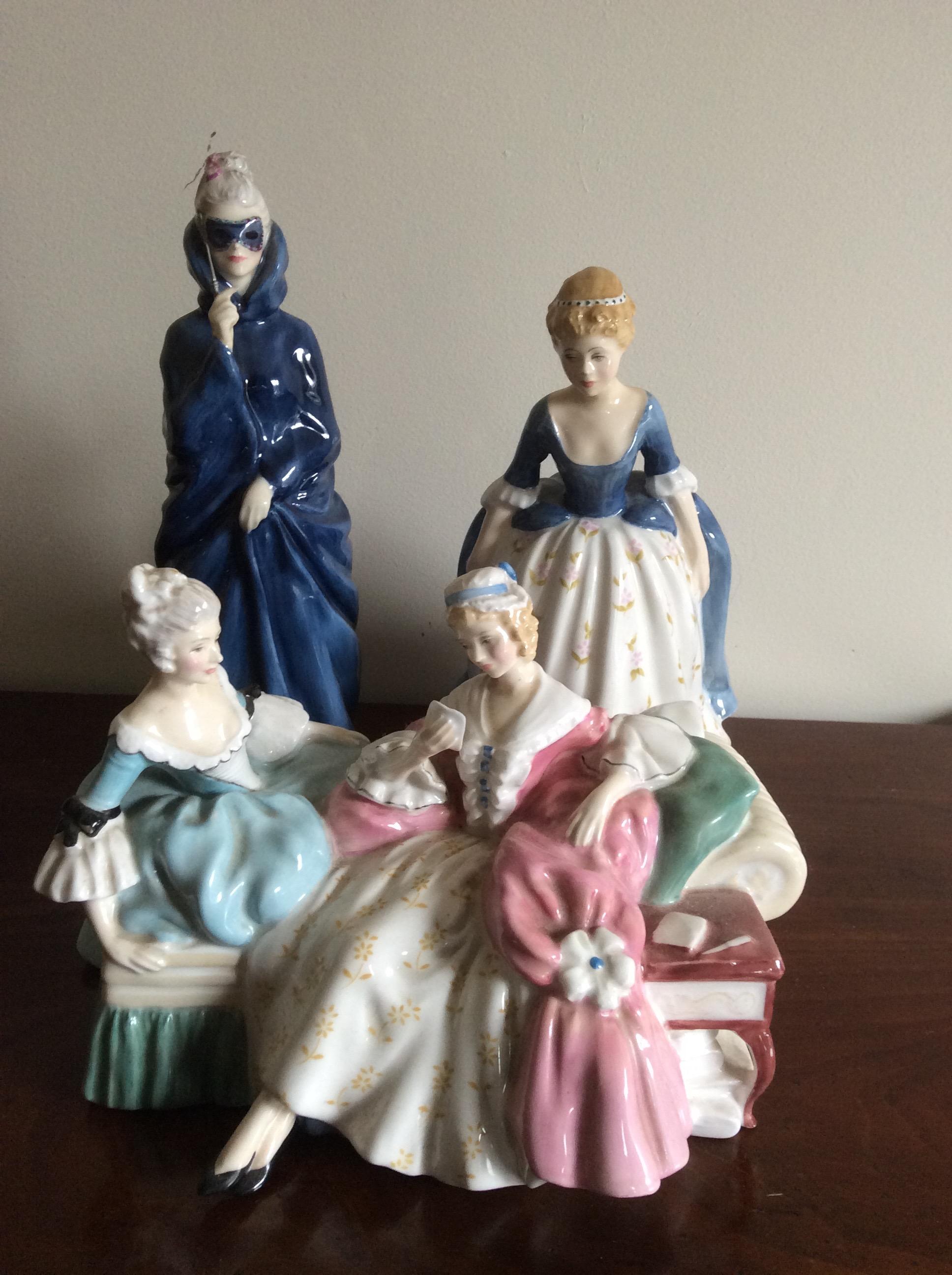 Lot 30 - Three Royal Doulton figures 2149 2554 2336