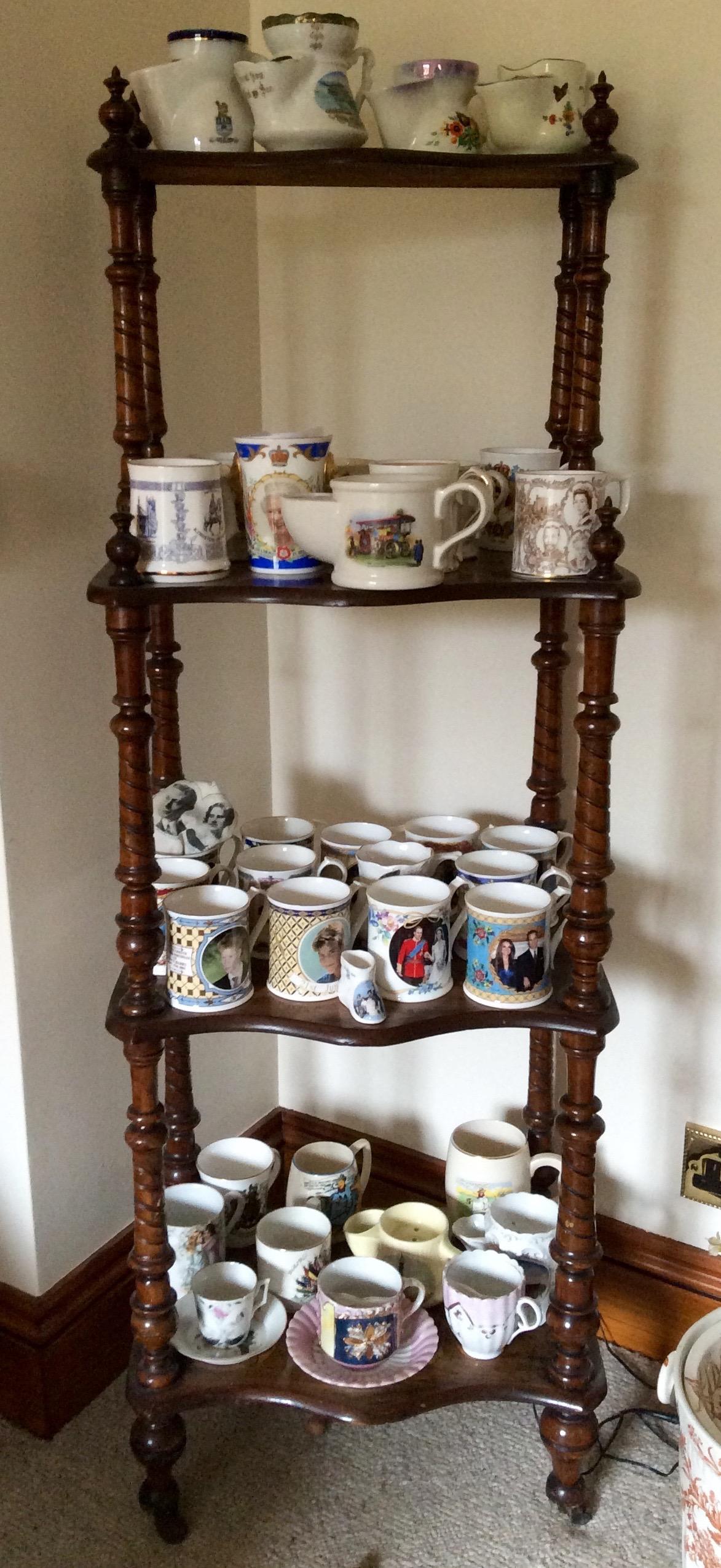 Lot 16 - A quantity of mugs, shaving, moustache, coronation etc.