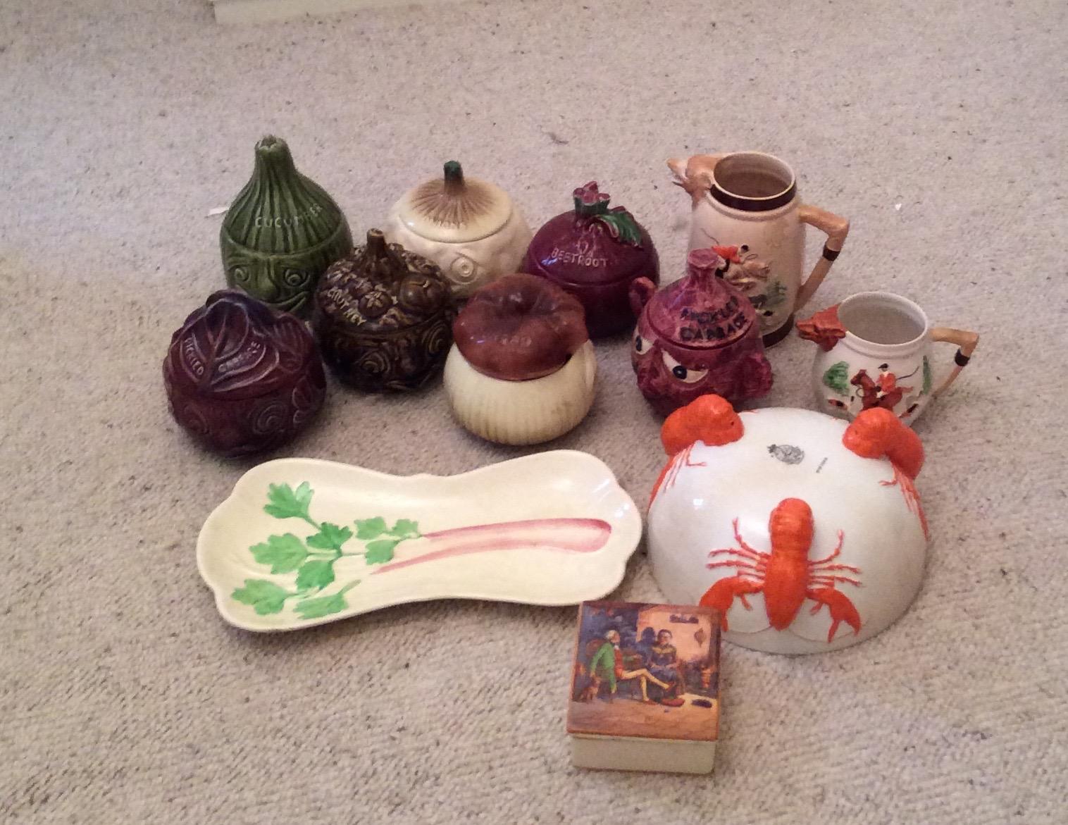 Lot 49 - Collection of ceramics inc. Sylvac, Carlton ware etc.