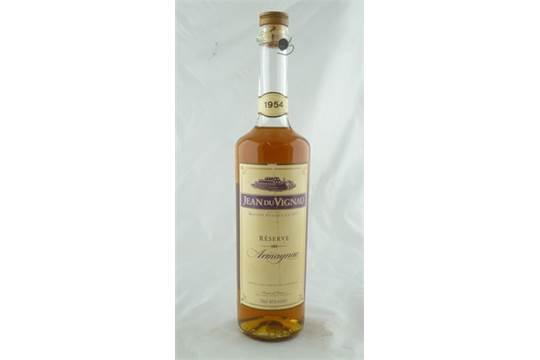 JEAN DU VIGNAU Reserve Armagnac 1954 1 Bottle