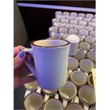 Lot de (56) tasses à café