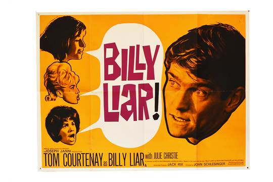 Image result for billy liar film poster
