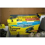 """CHICAGO ELECTRIC 6"""" CUT OFF SAW IN BOX"""