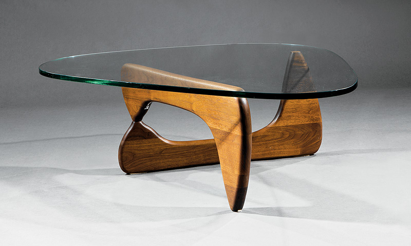 stunning Isamu Noguchi Coffee Table Original Part - 5: Lot 905 - Isamu Noguchi Coffee Table, Herman Miller