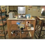 PC w/ Cabinet & Contents Machine, Type P3000/