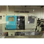 Takisawa mod. TPS-4100, CNC Turning Center, Turning Center w/ Vertical Milling Head, Twin 8-Post