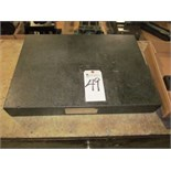 "Granite Surface Plate, 18""x24"""