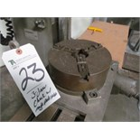 3-Jaw Chuck w/ Angle Plate Table