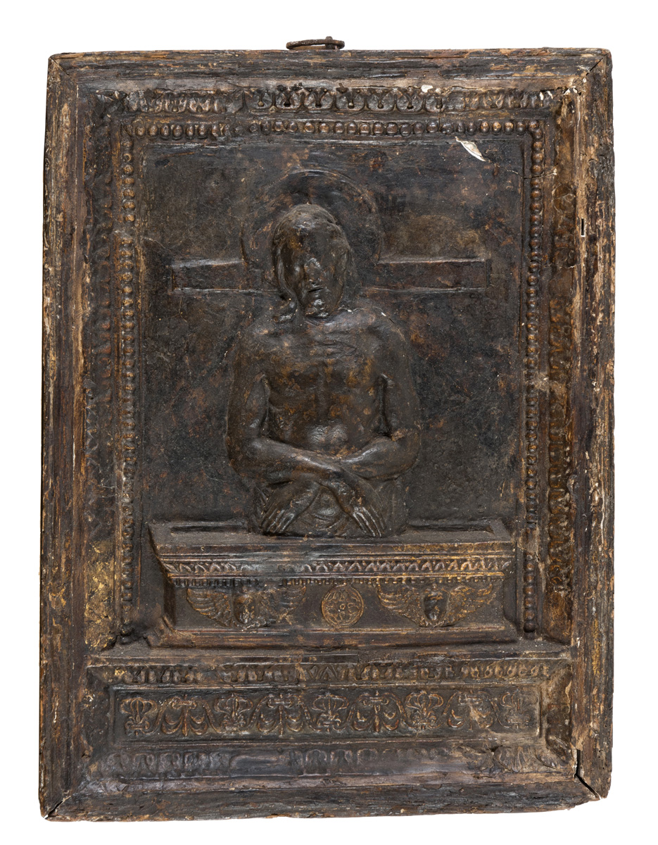Lot 47 - BAS-RELIEF IN PLASTER CENTRAL ITALY 16TH CENTURY