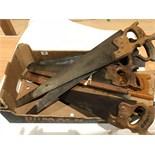 A quantity of saws