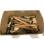 A box of hammers